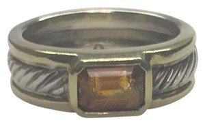 David Yurman David Yurman Citrine Cable Ring