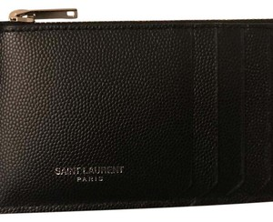Saint Laurent CLASSIC SAINT LAURENT PARIS 5 FRAGMENTS ZIP POUCH