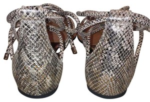 Vince Camuto Rosey Bronze Flats
