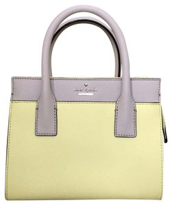 Kate Spade Satchel in Yellow and gray