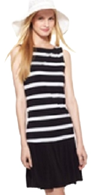 Preload https://item4.tradesy.com/images/emma-and-michele-dress-white-black-2066058-0-0.jpg?width=400&height=650