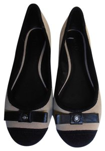 Diesel Ballet Ballet Suede tan and black Flats