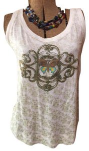 CAbi Boho Festival Hippie Embroidered Summer Top