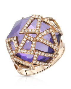 Other Amethyst Italian Ring