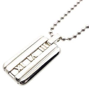 Tiffany & Co. Atlas Collection Dog Tag Necklace