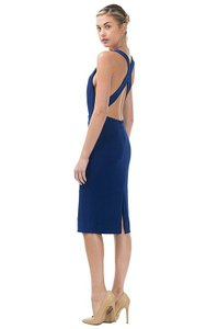 Other Backless Low Back Midi Midi Dress