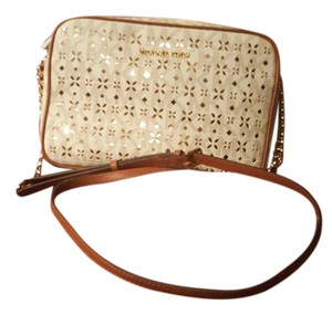Michael Kors Jet Set Perforated Mk Cross Body Bag
