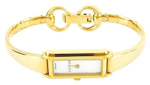 Gucci Gucci 109 G-Line Mother of Pearl Dial Gold Tone Stainless Ladies Watch