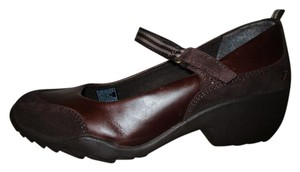 Skechers Leather brown Wedges