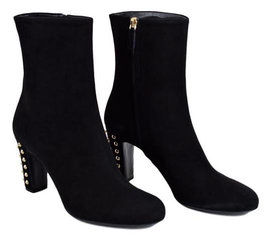 Gucci Studded Gg Black Boots