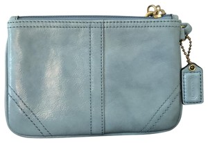 Coach Vintage Ships Next Day Essentials Wristlet in Blue