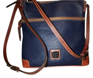 Dooney & Bourke Pebble Leather Crossbody Color Shoulder Bag