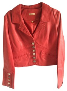 Wilsons Leather Leather Red Leather Jacket
