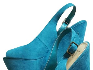 Other Teal Wedges