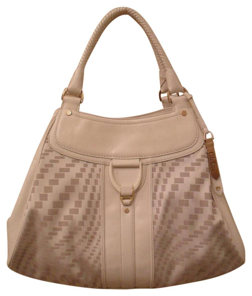 768f9d14d1 Cole Haan Geni Leather Tote in Off-White ...