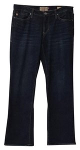 Dear John Denim Straight Leg Jeans-Dark Rinse