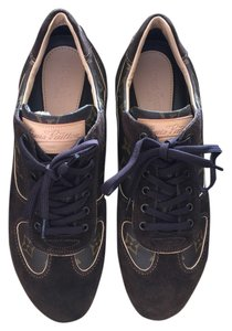 Louis Vuitton Sneaker Sneaker Monogram Monogram Sneaker Brown Suede/Monogram Canvas Athletic