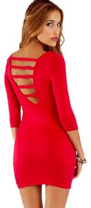 Tobi short dress RED on Tradesy