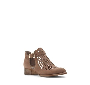 Vince Camuto Cadey Laser Cut smoke taupe Boots