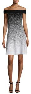 Shoshanna Ombre Woven Chic Machine Washable Formal Dress