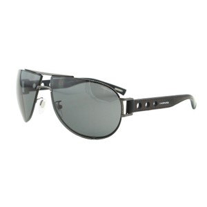 Chopard New Chopard SCH B32 Men Mille Miglia Racing Leather Aviator Sunglasses