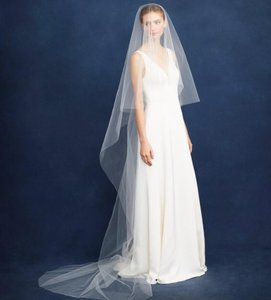 Peter Langner Ivory Long Cathedral Length Bridal Veil