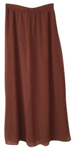 Forever 21 Maxi Skirt Brown