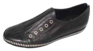 Calleen Cordero New Leather Studded Sneaker American Made Black Flats