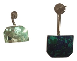 Dior Christian Dior set Cruise of Turguoise and green stone earring.