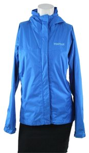 Marmot Nylon Precip Blue Windbreak Jacket