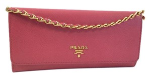 Prada Woc Wallet On Chain Saffiano Shoulder Bag