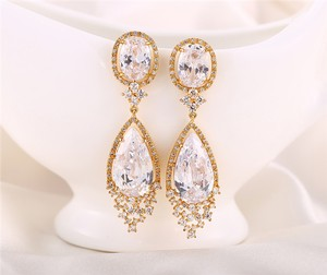 Crystal Earrings Crystal Chandelier Bridal Earrings
