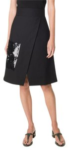 Tibi Isabel Marant Iro Rag & Bone Tory Burch Lela Rose Skirt Black