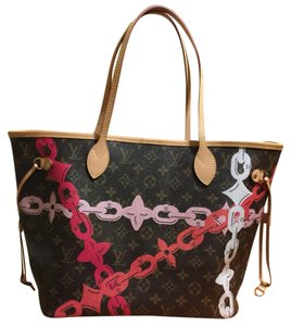 Louis Vuitton Neverfull Chain Neverfull Limited Edition Artsy Neverfull Mm Tote