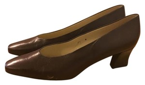 Etienne Aigner Classic Professional Sexy And Classic Leather Timeless Brand Aigner Chocolate Brown Formal