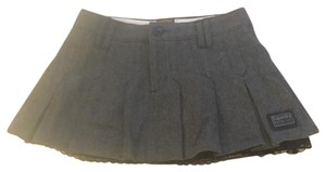 Super Dry Mini Skirt Grey