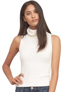 Abercrombie & Fitch Knit Turtleneck Sleevless Sweater