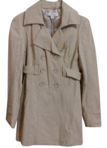 New York & Company Trench Beige Belted Trench Coat
