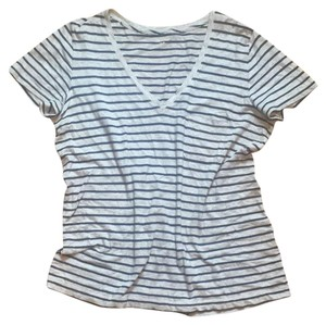 Madewell T Shirt Blue and Gray