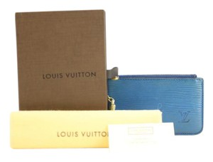 Louis Vuitton Toledo Blue Epi Key Cles 27LVA13117