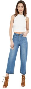 Forever 21 Flare Leg Jeans-Distressed