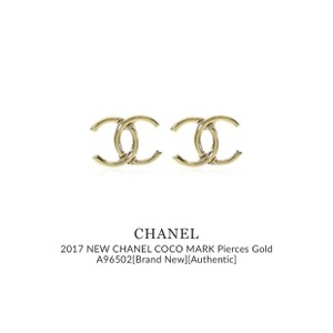 Chanel Chanel Gold CC earrings