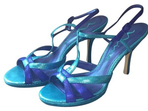 Nina Shoes Turquoise Royal Formal
