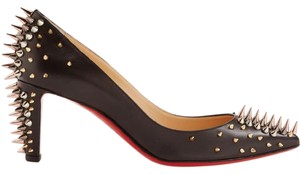 Christian Louboutin Studs Pigalle So Kate Louboutin Black Multi Pumps