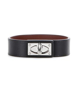 Givenchy GIVENCHY Shark tooth leather bracelet