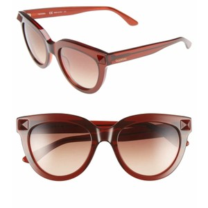 Valentino Women's Rockstud Cat Eye Sunglasses