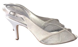 Nina Shoes Silver Luster Formal