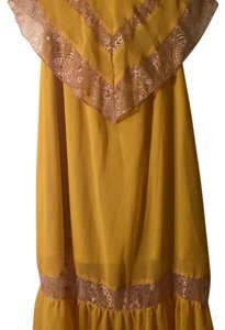 Mustard Maxi Dress by Flying Tomato