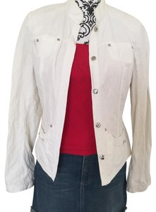 Tahari white Jacket
