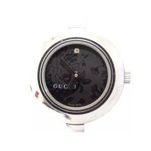 Gucci silver bangle watch